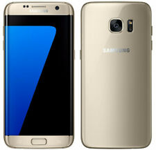 "Samsung Galaxy S7 Edge SM-G935F Doré 32 Go Débloqué Android 5,5"" GSM Smartphone"
