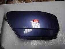 Valise droite bleu marine métal neuve APRILIA SCARABEO 125/150 1999/04