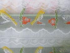rideaux L  90 cm neuf oiseaux   vendu par tranche de 23 cm