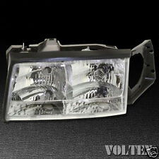 1997-1999 Cadillac DeVille Headlight Lamp Clear lens Halogen Driver Left Side