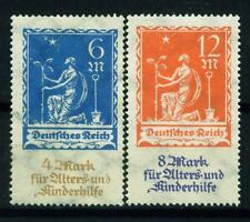 GERMANY 1922. PLANTING CHARITY. COMPLETE SET OF 2. MLH