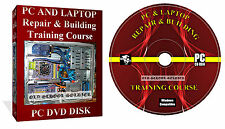 Laptop Repair course, Cpmputer Manuals, Training Video It Course 4x Disks