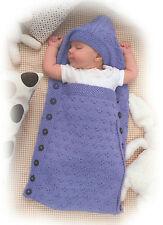 baby sleeping bag knitting pattern 99p