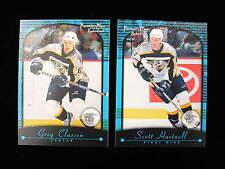 2000 Topps Premier Plus Scott Hartnell rookie card   Flyers RC   # 135