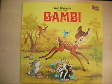 "Disney's Songs From Original Soundtrack ""BAMBI"" LP 1969"