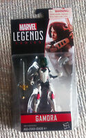 "MARVEL LEGENDS INFINITE UNIVERSE 3.75"" GUARDIANS GAMORA MOC IN HAND"