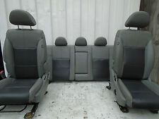 2009 DODGE AVENGER 5DR LEATHER INTERIOR SEATS GREY FRONT AND REAR