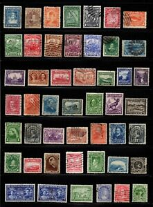 Lot 48 good stamps Newfoundland Canada used