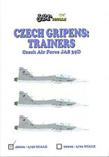 JBr Decals 1/48 JAS 39D GRIPEN Czech Air Force Jet Trainer