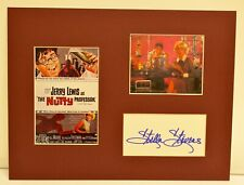 """""""The Nutty Professor"""" Collage with Stella Stevens Autograph (includes COA)"""