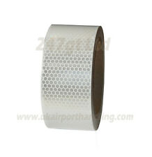 NEW HIGH INTENSITY WHITE REFLECTIVE TAPE 50mm x 10m