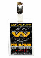 Aliens Weyland ID Badge Parking Permit Cosplay Prop Costume Gift Comic Con