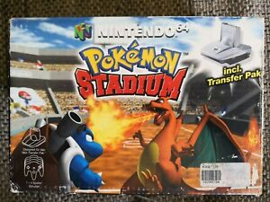 Pokemon Stadium + Transfer Pak N64 Nintendo 64 NEU OVP Neuware Rar