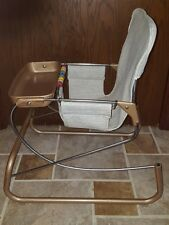 Vintage Baby Cosco Bouncy Seat Jumper and Feeding Chair vinyl seat