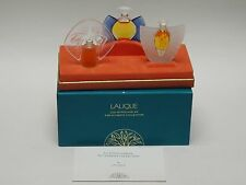 VINTAGE LALIQUE MINI PARFUM ULTIMATE COLLECTION LES INTROUVABLES 1998, 99, 2000