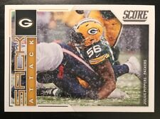 2017 Score Sack Attack Green Bay Packers Football Card #1 Julius Peppers