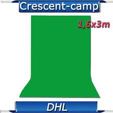 1,6x3m Fotostudio Hintergrund Chromakey Green Grün Nicht Gewebt Hintergrundstoff
