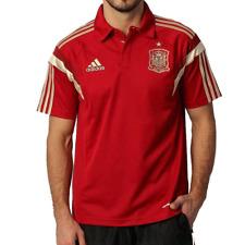 Polo ESPAGNE Homme adidas D83116 FEF Domicile rouge DESTOCKAGE de Foot Football