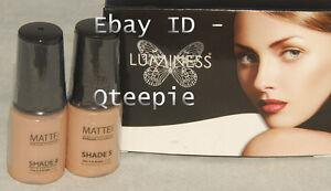 LUMINESS AIR - Airbrush Makeup 2 pc FAIR Shade #4 & #5 MATTE Foundation SET *NEW