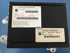 07 08 09 Chrysler Aspen Limited Audio Stereo Amplifier Amp 05064141AC