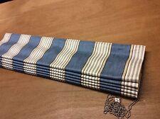 Romo Sotheby Cobalt Herringbone 7492/02 Roman Blind,Made To Measure, 9 Colours