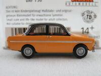 Brekina 27719 DAF 750 (1961-1963) in melonengelb/schwarz 1:87/H0 NEU/OVP