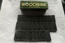 WILL'S WOODBINES DOMINOES SET FAST POST ( one not original domino included )