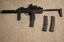 New listing H&K MP7 Gas Blowback Airsoft Gun With 3 Mags and 6.01mm Tightbore