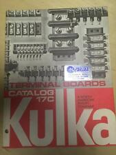 1981 Kulka Catalog ~ Terminal Boards Industrial Military Navy