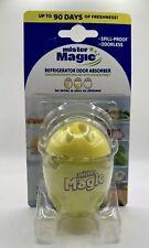 Mister magic Refrigerator Odor Absorber Fridge Lemon 3 Months 1.41oz ,40g