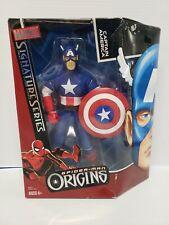 "Marvel Signature Series Captain America 12"" Action Figure Hasbro 2006 Mego"