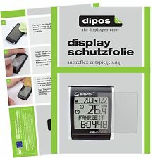 6x Sigma BC 2209 STS (E-Bike Display) Schutzfolie matt Displayschutzfolie Folie