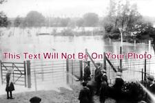 NF 340 - Swan Laundry Grounds, Norwich Floods, Norfolk - 6x4 Photo