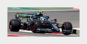 Aston Martin F1 Amr21 Mercedes M12 #5 Bahrain Gp 2021 Vettel SPARK 1:43 S7672 Mi