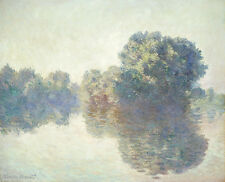The Seine at Giverny 1897 by Claude Monet 75cm x 61cm Canvas Print
