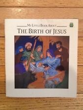 My Little Book About The Birth of Jesus Leap Frog 1993 paperback