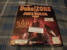 DUKE ZONE FOR DUKE NUKEM 3D NEW SEALED WIZARD WORKS PC CD 3D 500 LEVELS RARE !!!