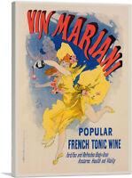 ARTCANVAS Affiche Pour Le - Vin Mariani Canvas Art Print by Jules Cheret