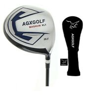 AGXGOLF MENS RIGHT HAND MAGNUM XLT 460 DRIVER wGRAPHITE SHAFT & COVER: ANY SIZE