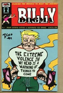 Bill Dogma #1-1997 vf 8.0 Indie signed/autographed by Dean Haspiel w/ COA