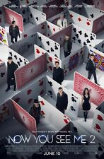 """NOW YOU SEE ME 2 /""""J DANIEL ATLAS CHARACTER/"""" 13.5x20 PROMO MOVIE POSTER"""