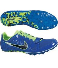 Mens Sz 12 NIKE Zoom Rival S Sprint Track Spikes Shoes Running Volt 456812-