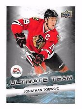 2011-12 Upper Deck EA Ultimate Team Jonathan Toews