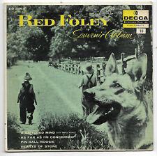RED FOLEY & BETTY FOLEY-DECCA ED 2363 ROCKABILLY & COUNTRY 45 RPM EP SOUVENIR 3