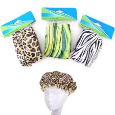 3 Pc Fashion Shower Caps Waterproof Cap Elastic Band Bathing Hair Kids 9 D x 7 H