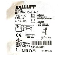 A●BALLUFF BES 516-113-S4-C(BES0161)Inductive Standard Sensors PNP New