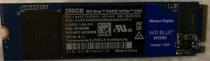 Western Digital WD Blue SN550 250GB NVMe M.2 2280 Internal SSD Solid State Drive