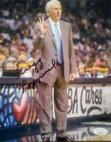 Gregg Popovich San Antonio Spurs Signed 8x10 Photo Authentic Auto JSA Certified