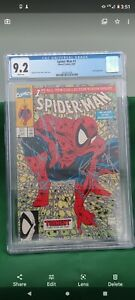 Spider-Man #1-Green cover-9.2 CGC-White Pages-Fresh CGC-Free Ship-Free Return