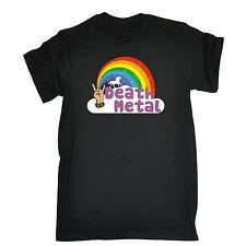 Death Metal Unicorn Rainbow T-SHIRT Rock Fantasy Heavy Funny birthday gift